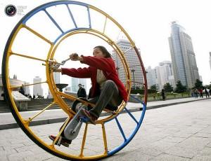 Необычные китайские велосипеды