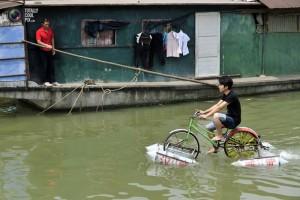 Речной велосипед