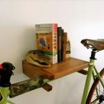 Полка под велосипед