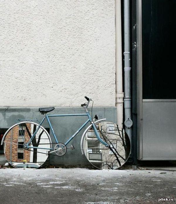 Что такое зеркальный велосипед?