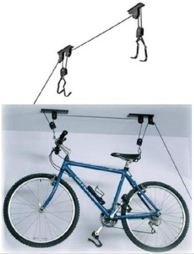 Крепление 4 велосипедов на стену