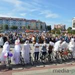 Конкурс вело-невест в Пинске 2015